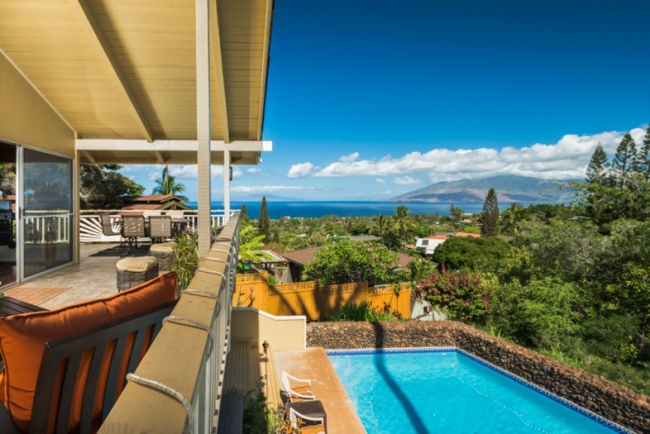 Private Wailea Home